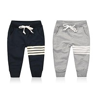 Spring Autumn Kids Pants Baby Boys Casual Pants Kids Clothing Cotton Boys Long Trousers Baby Boys Clothing Pants