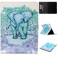 Cute Elephant creative case for iPad 2/3/4 air