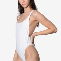 Total Babe High Cut Bathing Suit - Snow