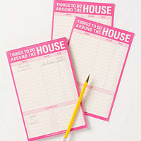 Anthropologie - Around The House Notepad