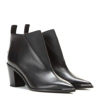 acne studios - silo leather ankle boots
