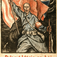 "WWI Poster Poles! Under The Polish Flag, On To The Fight ""For Our Liberty And Yo"