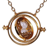 Necklace pendant Harry Potter Hermione Hourglass Removable time turner. TMPL_SKU007159