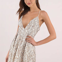 Hailey Skater Lace Dress