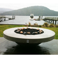 5 Foot Circular You-Design-It Custom Made Fire Pit Table