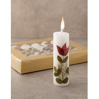 Flower Candles -Set of 5