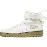 [Free Shipping] NIKE SF AIR FORCE 1 MID MEN'S SHOE - IVORY/CARGO KHAKI {The Price Tells The Quality}