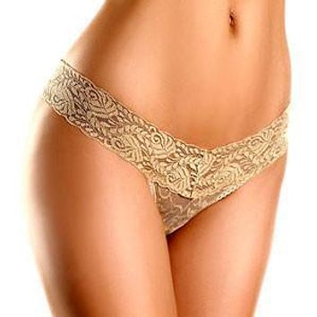 Sexy Sheer Lace Thong Panty Be Wicked