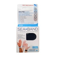 Sea-Band Travel And Morning Sickness Relief Acupressure Wrist Bands  - 1 Pair