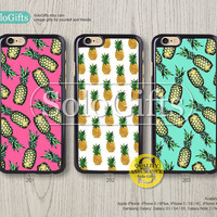 Pink mint pineapple, iPhone 6 case, iPhone 6 Plus case, iPhone case, iPhone 5 case, iPhone 5S Case, Galaxy S5 S4 S3 Note 2 Note 3, A0398