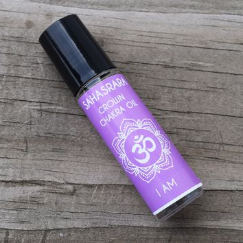 """Crown Chakra Oil """"I AM"""" Sahasrara - Connect With Your Soul & the Divine Universe"""
