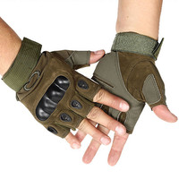 Multi-color Military Half-finger Gloves