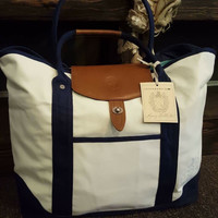 Take a Boat Ride Tote: Natural