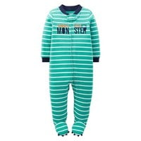 Just One You™Made by Carter's® Newborn Boys' Monster Sleep N' Play - Green