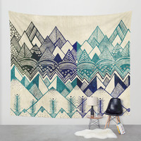 Two Worlds Wall Tapestry by Rskinner1122