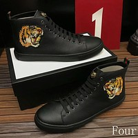 Gucci Man or Woman Fashion Embroidery Casual Shoes