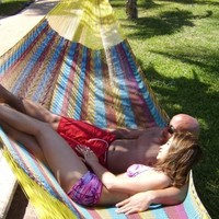 Hammocks Rada TM - Jumbo Size MULTICOLOR - Largest Hammock - FREE SHIPPING by UPS in 2 Days at Door