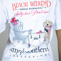 Beach Weekend Simply Southern Tee