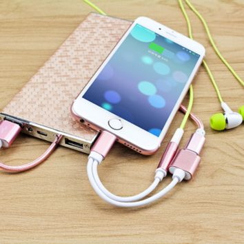 Iphone7 adapter earphone extension cable