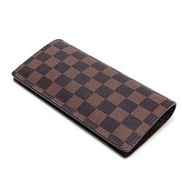 Louis Vuitton LV Women Fashion Leather Purse Wallet Envelope