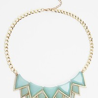 Leith Multi Triangle Statement Necklace | Nordstrom