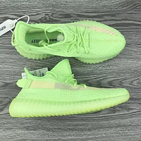 Onewel Adidas Yeezy Boost 350 V2 Fashion running shoes Green