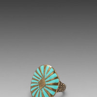 Dream Collective Sun Burst Ring in Turquoise from REVOLVEclothing.com