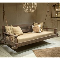 Lowcountry Originals Driftwood Swinging Bed