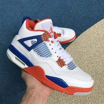 Air Jordan 4 Retro White/Orange 308497-171