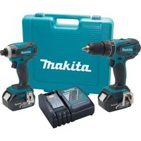 Makita 18-Volt LXT Lithium-Ion Combo Kit (2-Tool) LXT211 at The Home Depot - Mobile