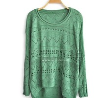 Cut Out Knitted Jumpers with High Low Hem (not process order until 22nd Feb)