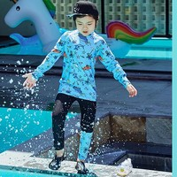 Boys Swimsuit Sexy Kids Swimsuits Baby Clothes Swimwear Children's 2018 Swimming Suits Long Sleeve Trousers For Big Korean