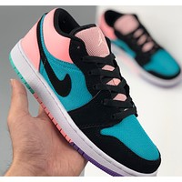 Nike Air Jordan 1 Low-Top Sneakers Shoes