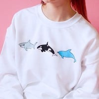 Sea Babies Sweater