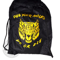 Do or Die Tiger Drawstring Backpack
