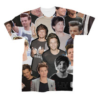 Louis Tomlinson Photo Collage Shirt - One Direction
