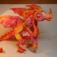 Handmade Dragon Art Doll - Belynda