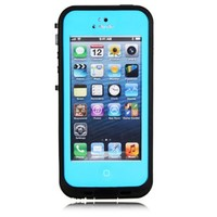 Viva New Waterproof Dustproof Snowproof Protection Case Cover For Apple iPhone 5 5S (Teal)