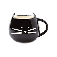 Cat Graphic Mug