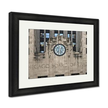 Framed Print, Chicago Board Of Trade Building