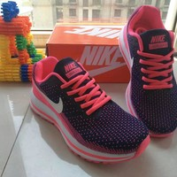 nike women sport casual multicolor flyknit sneakers fashion running shoes