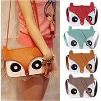 Cute Retro Fox Bag
