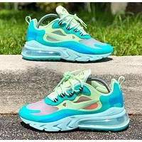 NIKE AIR MAX 270 REACT Women Men Air Cushion Sport Running Shoes Sneakers
