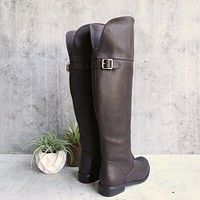 Final Sale - Estelle Motorcycle Riding Boots in Brown