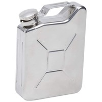 Maxam® 5oz Stainless Steel Gas Can Flask