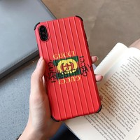 Gucci SuitCase Style Case - Red