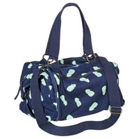 Mossimo Supply Co. Pineapple Weekender Tote Handbag with Removable Strap - Navy