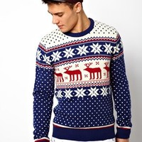 New Look Holidays Sweater with Reindeer