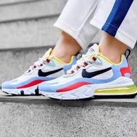 NIKE Air Max 270 React Trending Women Men Casual Air Cushion Sport Running Shoes Sneakers 4#