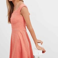 Minkpink Sweetheart Dress in Coral - Urban Outfitters